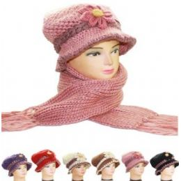36 Units of WWH AB 010 WOMAN WINTER 2 PC SET - Winter Hats