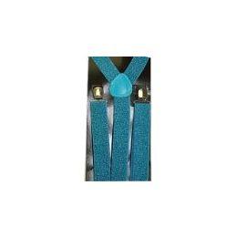 48 Units of Suspenders In Shimmery Blue - Suspenders