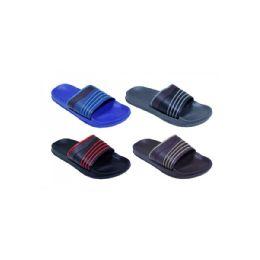 48 Units of Mens Strip Sandals - Men's Flip Flops and Sandals
