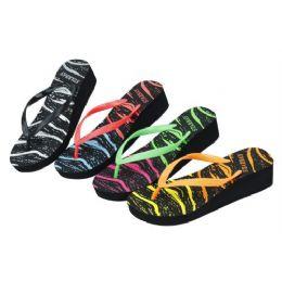 36 Units of Ladies Colorful Summer FliP-Flop - Women's Flip Flops