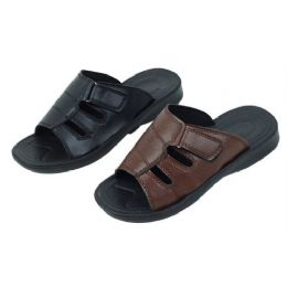 24 Units of Solid Color Every Day Sandal - Men's Flip Flops and Sandals