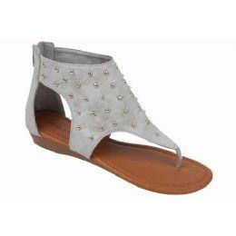 18 Units of Ladies Fashion Sandals In Grey - Women's Flip Flops