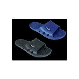 48 Units of Mens Slide Slippers - Men's Flip Flops and Sandals