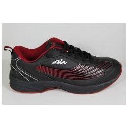 12 Units of Mens Summer Sneakers In BLACK&RED - Men's Sneakers