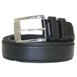 36 Units of Mens General Leather Belt In Black - Mens Belts