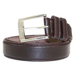 36 Units of Mens General Leather Belt In Brown - Mens Belts