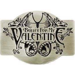 72 Units of  Bullet For My Valentine Belt Buckle - Belt Buckles