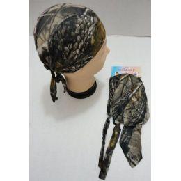 36 Units of Skull CaP-Hardwoods Camo - Sun Hats