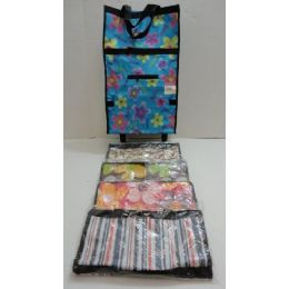 36 Units of Printed Travel Bag with Wheels - Travel & Luggage Items