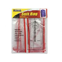 36 Units of Plastic Suit Bag - Travel & Luggage Items