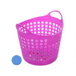 144 Units of Storage Basket Assorted Colors - Baskets