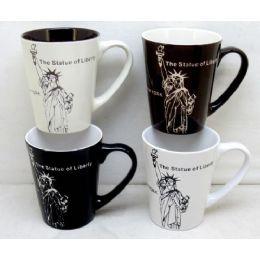 48 Units of Wholesale 11 Ounce Statue Of Liberty New York Mug - Coffee Mugs