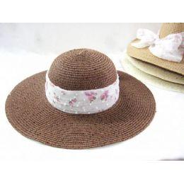 36 Units of Ladies Fashion Summer Hat - Sun Hats