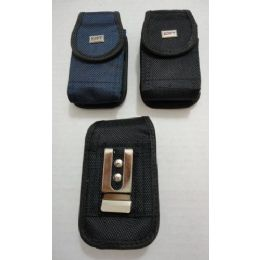 24 Units of Black/Navy Velcro Cell Phone Case - Cell Phone & Tablet Cases