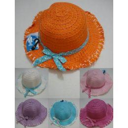48 Units of Girls Summer Sun Hat - Sun Hats
