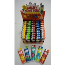 6 Units of Printed LighterS-Angry Monsters [led Light] - Lighters