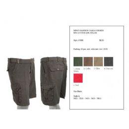 60 Units of Mens Summer Cargo Shorts - Mens Shorts