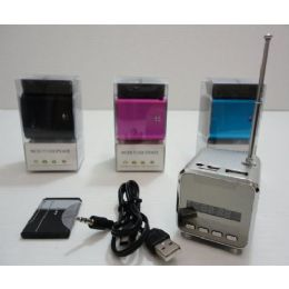 24 Units of Mini Speaker/FM Radio - Computer Accessories
