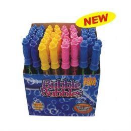 72 Units of Bubble Stick 10.6in Plain - Bubbles