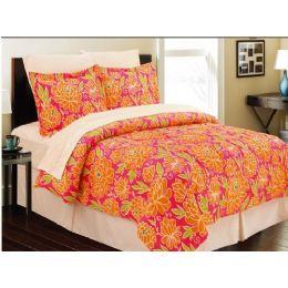 4 Units of Manhattan Lights 8 Piece Bed N Bag Cal King Size - Comforters & Bed Sets