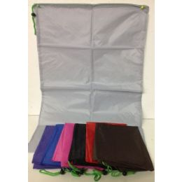 120 Units of Luandry Bag 20 X 28 Assorted Colors - Laundry  Supplies
