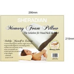 6 Units of Memory Foam Contour Pillow - Pillows