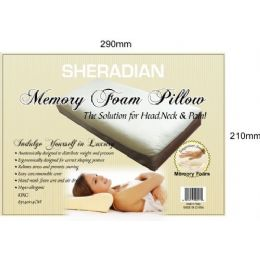 4 Units of Memory Foam King Pillow - Pillows