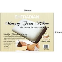 8 Units of Memory Foam Queen Pillow - Pillows
