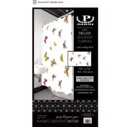 12 Units of butterflies delxue shower curtain - Shower Curtain
