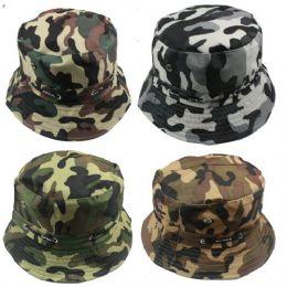 60 Units of Ladies Camo Summer Hat - Sun Hats