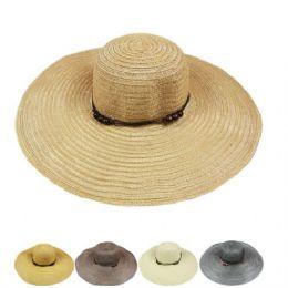 72 Units of Ladies Long Summer Hat - Sun Hats