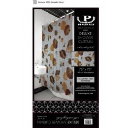 12 Units of seashells deluxe shower curtain - Shower Curtain