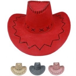 24 Units of Western Cowboy Hat Mix - Cowboy & Boonie Hat