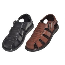 18 Units of Mens Summer Sandals In Brown And Black - Men's Flip Flops and Sandals