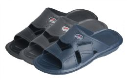 24 Units of Men's Bertelli Shower Slippers - Men's Slippers