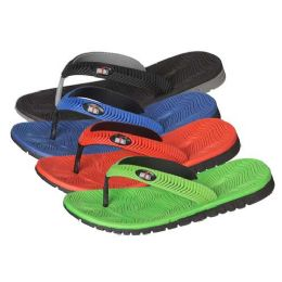 36 Units of Men's Flip Flops In Assorted Colors And Sizes - Men's Flip Flops and Sandals