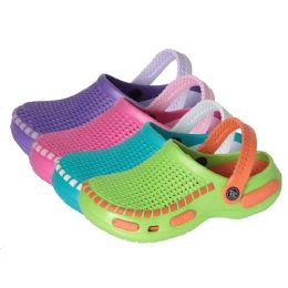 36 Units of Girls Clogs For The Summer - Girls Sandals