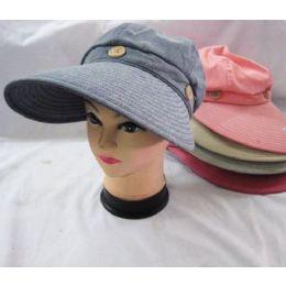 24 Units of Ladies Sun Hats - Sun Hats
