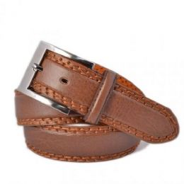 60 Units of Mens Plus Size Belts In Brown - Mens Belts