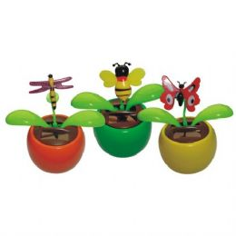 96 Units of Solar Dancing Deco Bug - Garden Decor