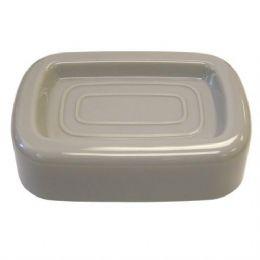 96 Units of Soap Dish Dove Grey - Soap Dishes & Soap Dispensers