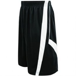 72 Units of Mens Striped Basketball Shorts With Pockets And Draw String - Mens Shorts