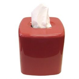 72 Units of Boutique Tissue Box Plum - Tissues