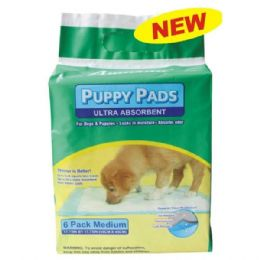 96 Units of Amoray Pet Pads 6PK - Pet Accessories
