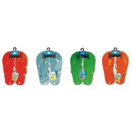72 Units of Women's Flip Flop Plain Design - Laundry  Supplies