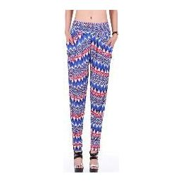72 Units of Women's Aztec Harem Pant - Womens Pants