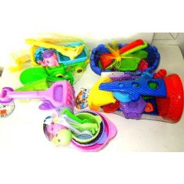 72 Units of Wholesale Bulk - Beach Toys