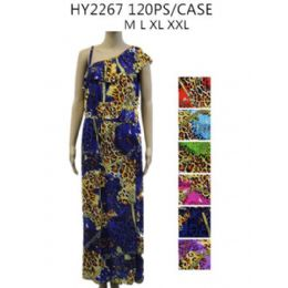 72 Units of Ladies Long Summer Dress - Womens Sundresses & Fashion