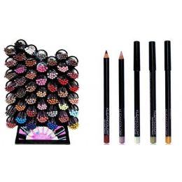 96 Units of Kleancolor Lip & Eyeliner Pencil - Eye Shadow & Mascara