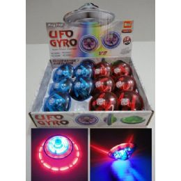 72 Units of Flashing LighT-Up Top With Music *ufo* - Light Up Toys